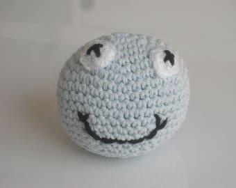 Ball dog toys with squeaky - handmade-crochet ball dog ball