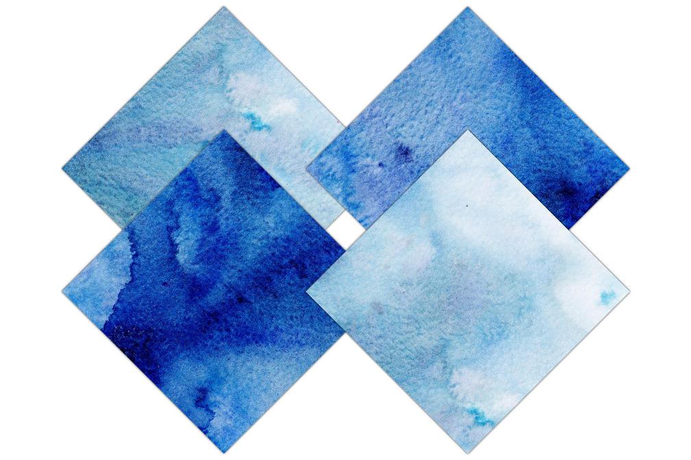 indigo blue watercolor digital paper pack commercial use backgrounds dark royal blue watercolor. Black Bedroom Furniture Sets. Home Design Ideas