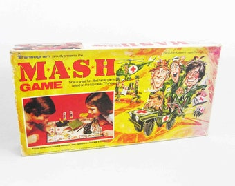 Vintage M*A*S*H Board Game by Transogram. Circa 1975.