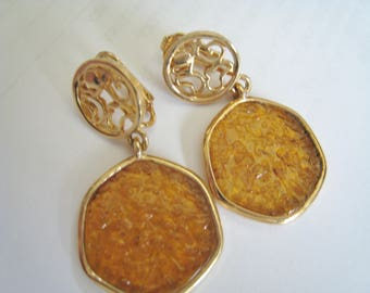Sarah Coventry Dangle Clip Earrings