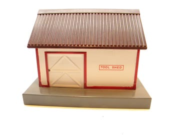 American Flyer 585 Tool Shed   1940's S Gauge Accessory