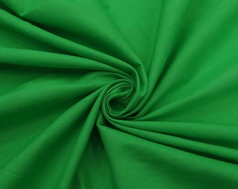 "Indian Decor, Green Fabric, Apparel Fabric, Home Decor, Sewing Crafts Fabric, 40"" Cotton Fabric By The Yard PZBC12E"
