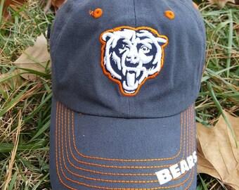 Vtg Chicago Bears Dad hat curved brim hat cap
