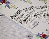 Set of 5 Bookmarks - Texto del Año en Español 2018  - Jw pioneer gifts - Jw Pioneer School gifts - Jw pioneer school - español jw