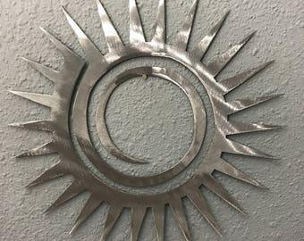 Sun metal wall art 3 Home Decoration Southwest garden Skilwerx desert Beach