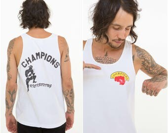 Kick Boxing Tank Top / Champions / Size M