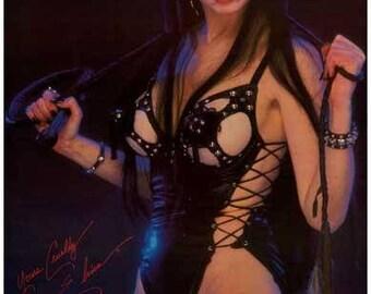 Elvira Mistress of the Dark   Rare Vintage Poster