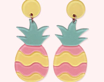 PIN APPLE earrings