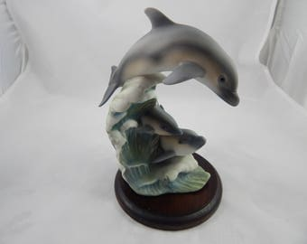 Vintage Homco Dolphins Endangered Species Series 1994