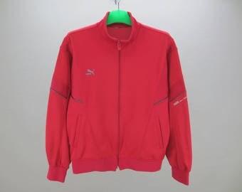 Puma Jacket Men Size S Vintage Puma Track Top 90s Puma Vintage Activewear
