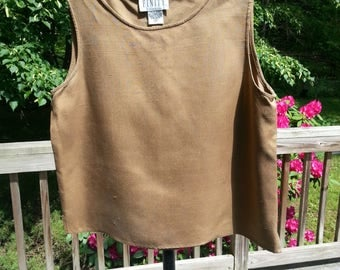 Silk Top, silk blouse, vintage silk top, size 4 top, vintage size 4, vintage silk, dupioni silk