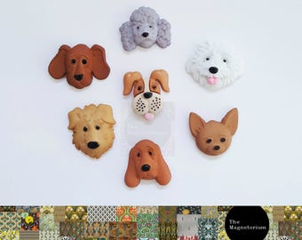 Dog Fridge Magnet Set