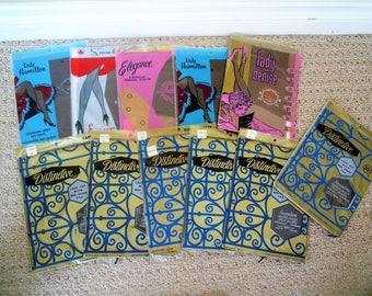 11 Pr Vintage NEW Seam Free 50s/60s Nylons HOSIERY Hose Garter Stockings Size 10-11