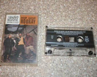 naughty by nature hip hop hooray cassette tape