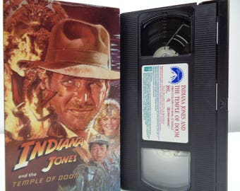 indiana jones and the temple of doom VHS Tape