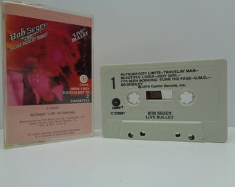 Bob Seger and the Silver Bullet Band Live Bullet Cassette