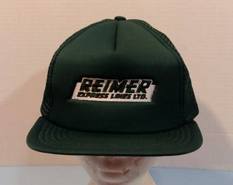 Reimer Express Lines LTD Baseball Truckers Dad Hat Cap Snapback S - XL