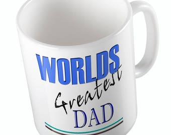 WORLDS GREATEST DAD mug