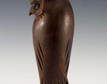 Owl | Ironwood | Sonoran Desert-Mexico | Handcarved | Indigenous |