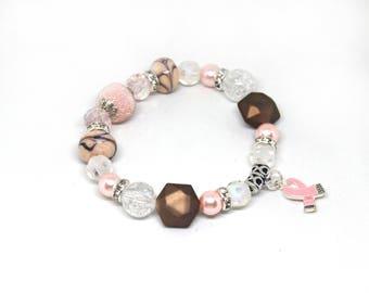 Breast Cancer Gifts - Breast Cancer Bracelet - Breast Cancer Jewelry - Breast Cancer Awareness - Breast Cancer - Breast Cancer Ribbon