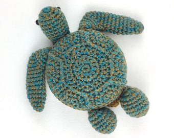 Sea Turtle Tape Measure Lantern Moon Tape Measure Retractable Tape Measure, Crocheted Tape Measure Knitting Tool, Crochet Tool Sewing Tool