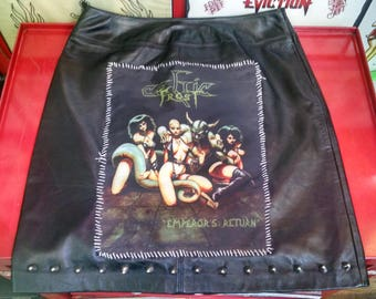 Leather Celtic Frost Skirt
