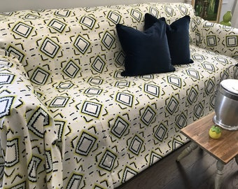 Nate Berkus Designer Fabric SofaScarf Only 1 Available