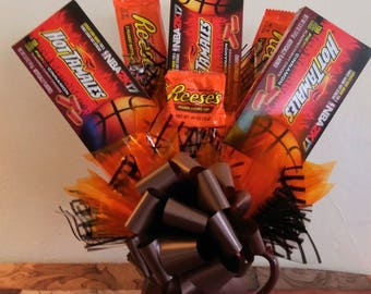 Basketball Candy Bouquet and Mug