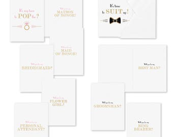 Pop the Question Card Set  -  Set of 16 Cards