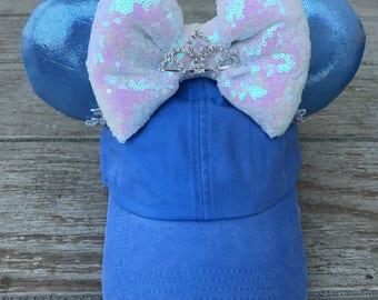 Cinderella inspired hat