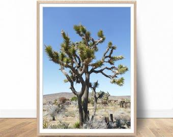 Joshua Tree Print, Landscape Photography, Nature Art, Landscape Print, Joshua Tree Wall Art, Nature Photography, Printable Art, Art Prints
