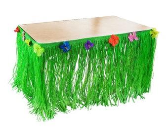 Moana luau table skirt party decoration