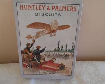 Huntley and Palmers biscuit tin