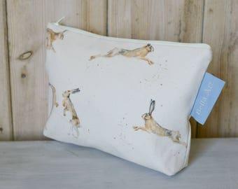 Hare Make up/ Wash Bag