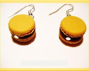 ♥ ♥ polymer clay fimo macaroon earrings