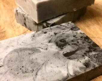 Activated Charcoal Soap Bar. All Natural Detoxifying Face & Body