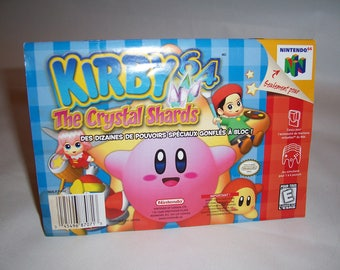 Kirby 64: The Crystal Shards Nintendo 64 N64 (Rare manual only)