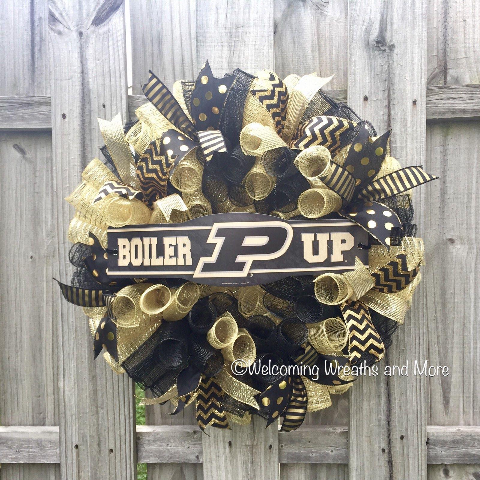 Color printing purdue - Purdue Boilermakers Wreath Purdue Deco Mesh Wreath Purdue Decor