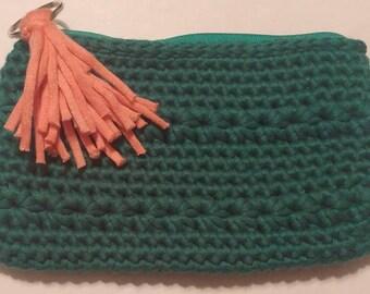 Soft clutch purse