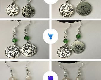 Zodiac Horoscope Earrings
