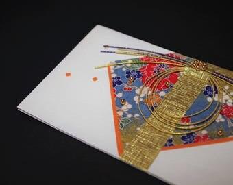 """Mizuhiki envelopes This envelope is used for each celebration. A special envelope called """"noshibukuro"""""""