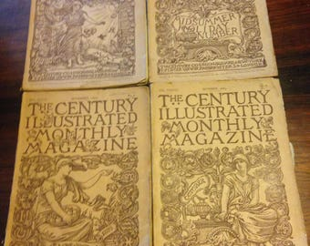 First Edition The Century Illustrated Monthly Magazine