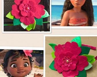 Moana inspired headband