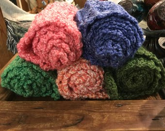 Homespun Winter Scarves