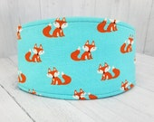 Male Dog Belly band - SHIPS TOMORROW! - dog diaper - Reusable and washable - potty training aid - Small to Large sizes - Cute Foxes