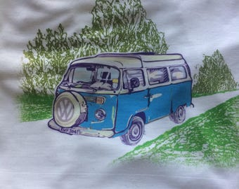 VW printed t shirt.