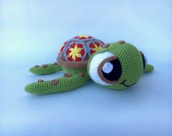 The little turtle crochet SQUIZ