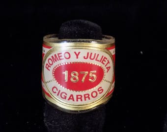 Romeo Y Julieta Cigar Band Ring