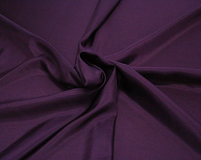 402220-taffeta natural silk 100%, width 110 cm, made in India, can be used liner, dry wash, weight 58 gr