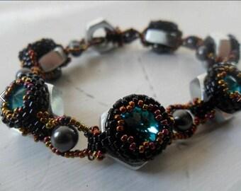 Laura McCabe's Hex Nut Beadwoven Bracelet